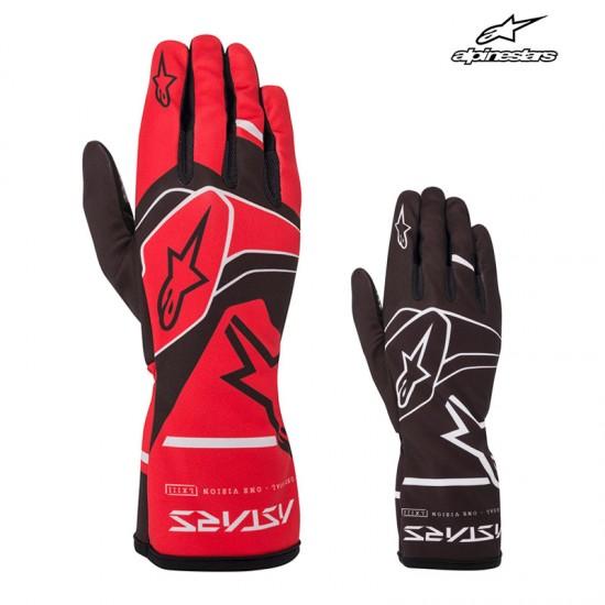 ALPINESTARS TECH-1 K RACE S. V2 SOLID GLOVES 兒童卡丁手套