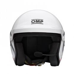 OMP J-R HANS INTERCOM NEXUS HELMET 半罩式賽車安全帽 FIA認證