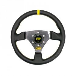 OMP TRECENTO LEATHER 賽車方向盤