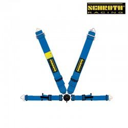 SCHROTH ProfI II AMS(With Flexi Belt) with Flexi Belt Lap belt blue 4點式安全帶