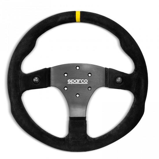 SPARCO R330B SUEDE STEERING WHEEL 麂皮方向盤