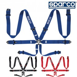 SPARCO 04818RAC SEAT BELT 六點式安全帶