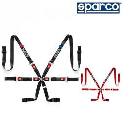 SPARCO PRIME H-9 EVO 六點式安全帶