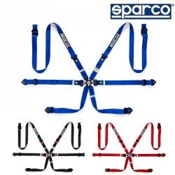 SPARCO 04834HPD SEAT BELT 六點式安全帶
