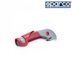 SPARCO Professional hammer with light and seatbelt cutter 安全刮刀/安全錘