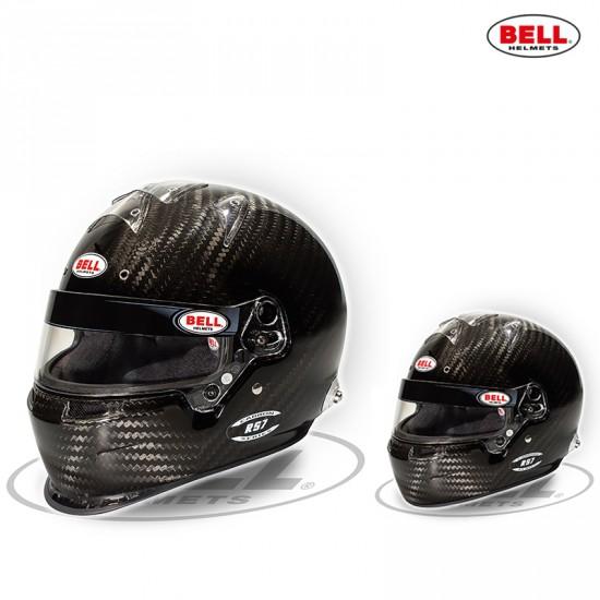 BELL RS7CARBON FIA認證 超強碳纖維賽車安全帽