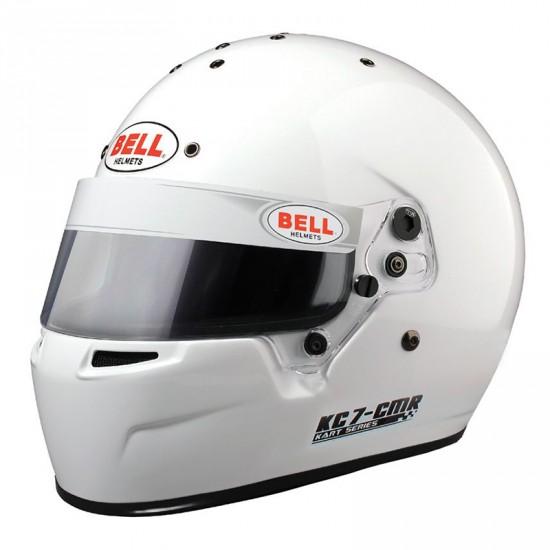 BELL KC7-CMR White 卡丁安全帽